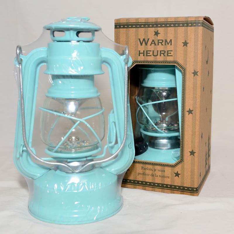 藍色 LED 仿古油燈 小夜燈 露營吊燈 緊急照明燈 日本帶回 同?流行