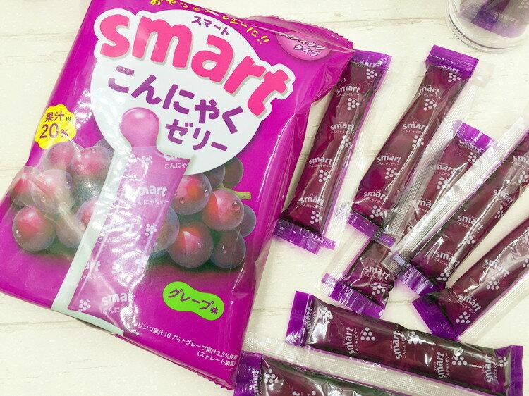 有樂町進口食品 日本進口 RIBON 立夢 果凍條 葡萄味/水蜜桃 10入/包 150g 4903316614175 3