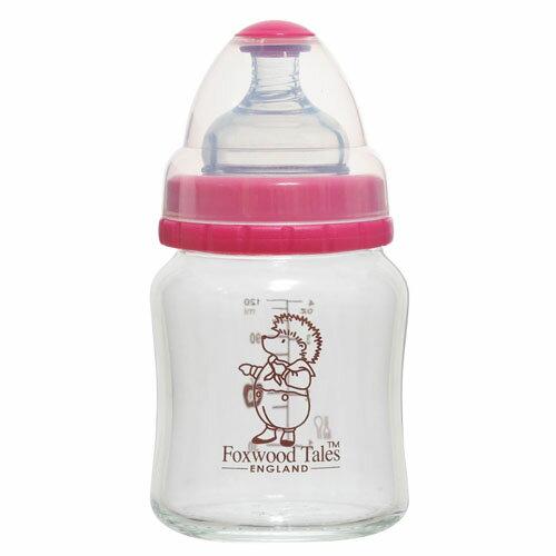 『121婦嬰用品館』狐狸村 真母乳寬口玻璃奶瓶120ml 1