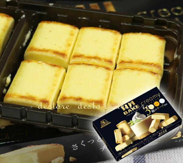有樂町進口食品 日本森永 BAKE 烤起司 起司磚 J58 4902888209482