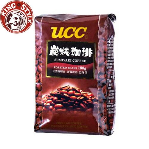 金時代書香咖啡【UCC】炭燒咖啡豆(180g)