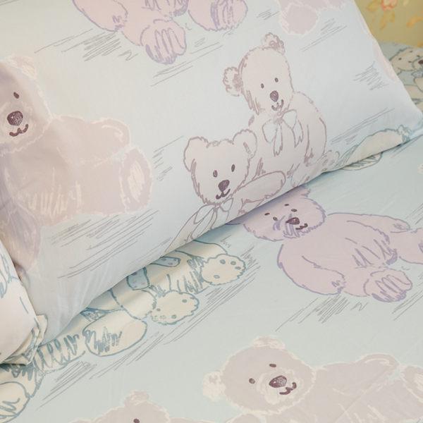 抱抱小熊   單人/雙人熱賣組 100%精梳棉 台灣製 5