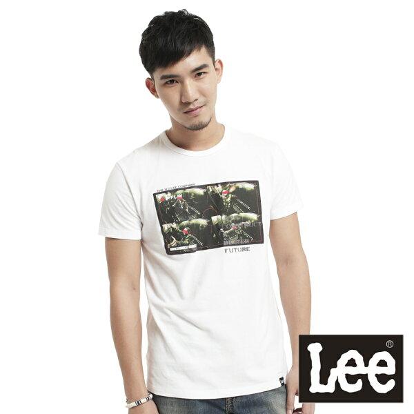【 3折優惠↘ 】Lee  彩色相印短袖T恤