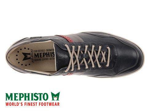 Mephisto 法國工藝皮革休閒鞋 墨綠 2