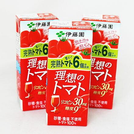 【敵富朗超巿】伊藤園 充實野菜汁-理想番茄汁 1