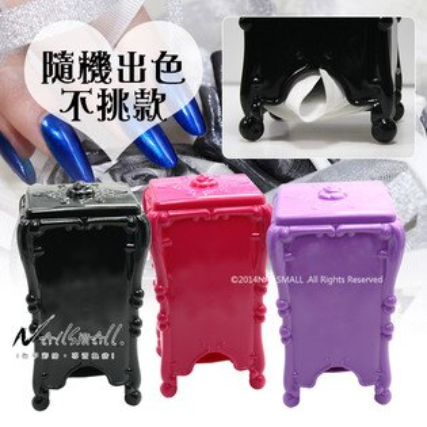 高質感薔薇玫瑰 清潔棉片放置架 指甲彩繪卸甲棉片空盒 (顏色隨機) 化妝棉盒 收納盒