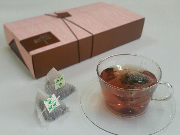 『牧香茶集花茶系列』有機玫瑰烏龍原片茶包禮盒 ORGANIC ROSE OOLONG TEA BAG