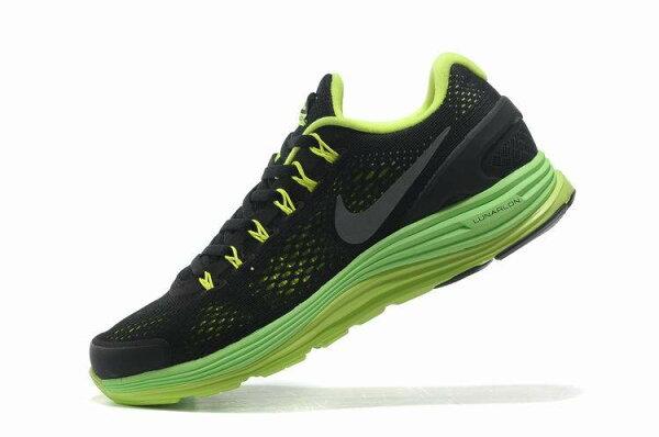 Nike Lunarglide 男鞋 網布透氣慢跑鞋子 運動鞋 休閒鞋 黑熒光綠