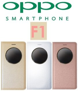 【原廠吊卡盒裝】歐珀 OPPO F1 原廠視窗皮套 快速接聽電話/掛斷/功能性皮套