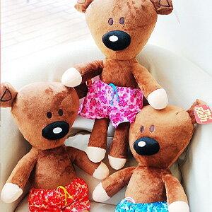 美麗大街【104112414-12】豆豆先生好朋友泰迪小熊 玩偶 娃娃 【12吋】