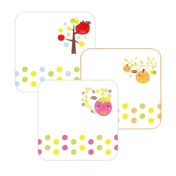 『121婦嬰用品館』拉孚兒純免紗布手帕-(水果3入) 0