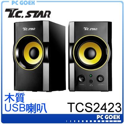 連鈺 TCS2423 二件式USB喇叭 ☆pcgoex 軒揚☆