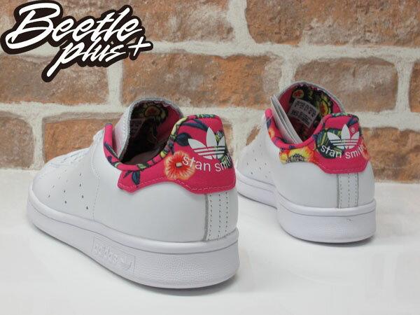 女鞋 BEETLE ADIDAS ORIGINALS STAN SMITH 白桃 花卉 夏威夷 愛迪達 S75564 2