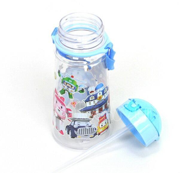【POLI 波力】吸管水壺450ml 1