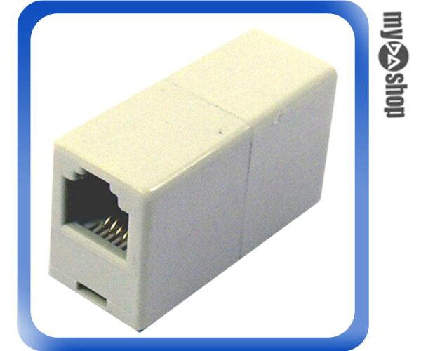《DA量販店E》全新 一母轉一母電話轉接頭 可用於在 分接電話/傳真機/事務機 (10-019)