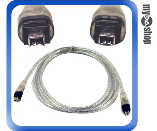 《DA量販店A》 全新 140 公分 Firewire IEEE 1394 4 / 4 pin 公頭 銀色線材 (12-007)
