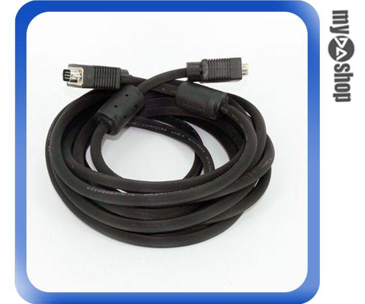 《DA量販店C》全新 電腦線材 螢幕專用 D-SUB 15PIN 公 對 公 5米 延長連接線 (12-213)