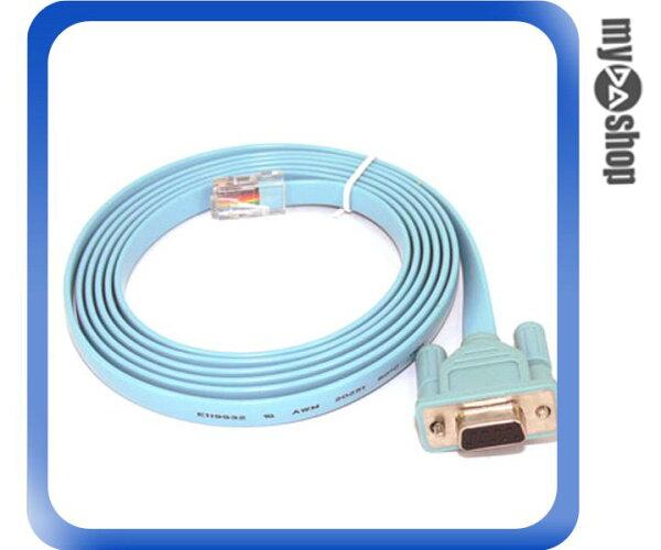 《DA量販店A》CISCO 產品系列適用Console 線 DB9轉RJ45 Console Cable (12-264)