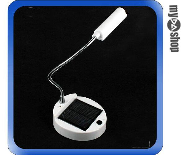 《DA量販店》全新 超亮 5LED 太陽能 檯燈 桌燈 室內燈 蛇管式設計 隨意調整 (17-1425)