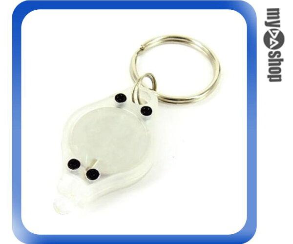 《DA量販店F》全新 省電型 1燈式 LED 拇指型手電筒 使用2顆 CR2016 水銀電池 (17-205)