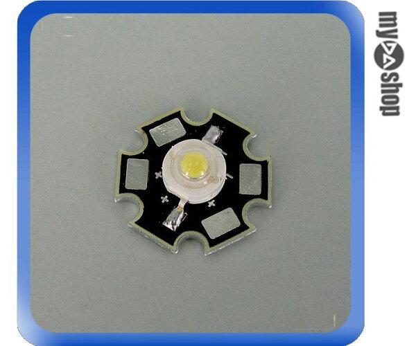 《DA量販店A》超亮 1W 白光 LED 燈膽 適用電壓 3.2~3.8V 電流 350mAh (17-510)