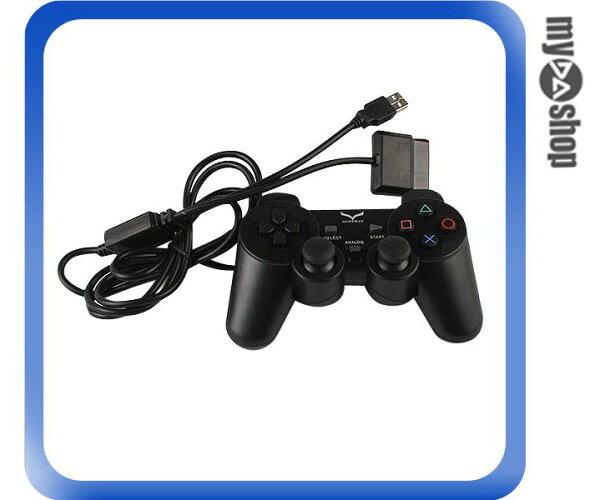 《DA量販店》電腦 PC NB 筆電 電玩 遊戲 把手 2合1 USB PS2 PlayStation 2 (20-1859)