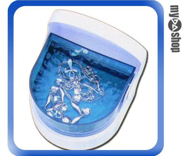 《DA量販店G》迷你 超音波 洗滌機 清洗機 可清潔墜子/項鍊/戒指/耳環等飾品 (22-151)