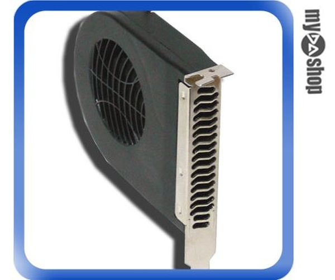 《DA量販店》全新 PCI插槽風扇 幫助顯示卡散熱 窩捲式設計 渦輪靜音散熱風扇(23-022)