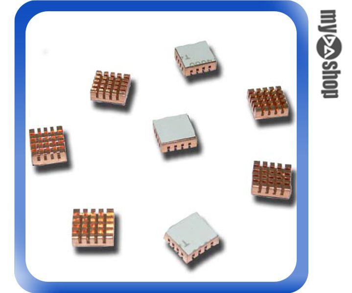 《DA量販店A》全新 銅製 顯示卡專用 記憶體/RAM/晶片 顆粒 散熱片/散熱貼片 (23-028)