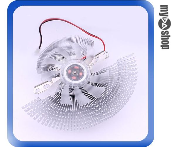 《DA量販店A》全新 高階 低噪音 鋁製 顯示卡 散熱器風扇/散熱器 可調整孔距 (23-159)