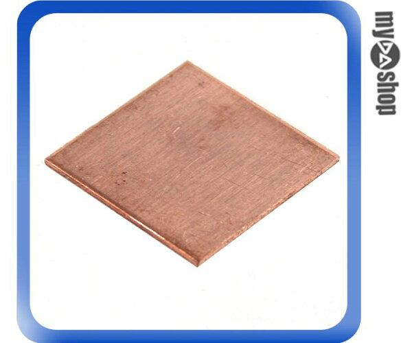 《DA量販店》新 電腦 PC 筆記型 電腦 顯卡 顯示卡 散熱 銅片 0.8 cm 20 x 20 (23-240)