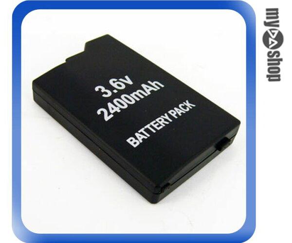 《DA量販店F》全新 PSP-2000 2007 專用 3.6V 2400mAh 鋰電池 無記憶電量 (28-338)