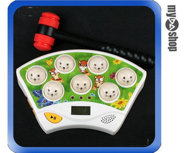 《DA量販店》全新 大型打地鼠 打地鼠機 遊戲機 電玩 玩具 出氣筒 附鎚子 (29-1076)