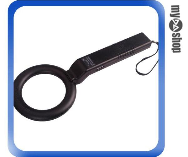 《DA量販店》全新 手持式 簡易型 輕便 圓型 金屬探測器 安檢儀器(34-831)