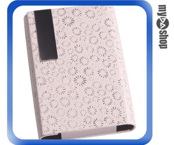 《DA量販店》全新 設計/全蓋皮夾式 香煙盒/繽芬 粉/獨特/造型/時尚配件/皮質 (37-588)