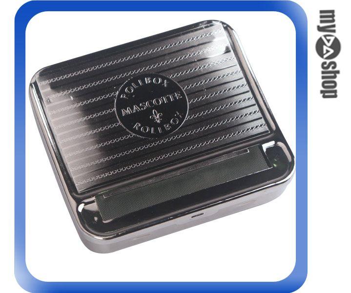 ~DA量販店~ 金屬 攜帶式 自動 盒式 捲菸器 捲菸機^(37~774^) ~  好康折