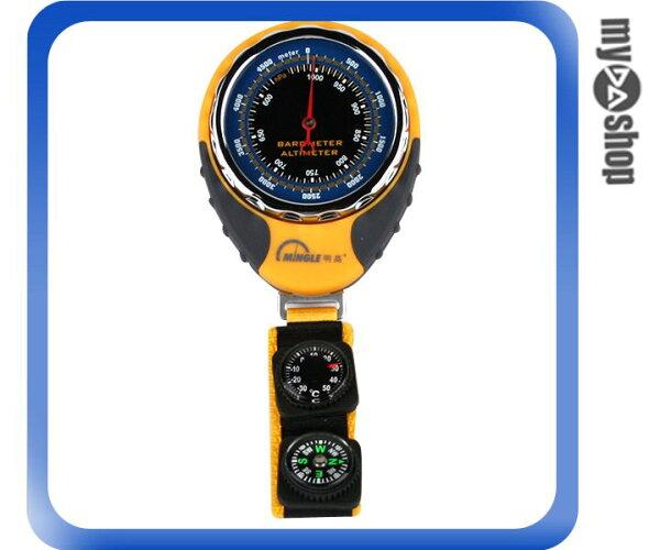 《DA量販店》BKT381 四合一 海拔表 高度計/氣壓計/溫度計/指南針 (59-1189)