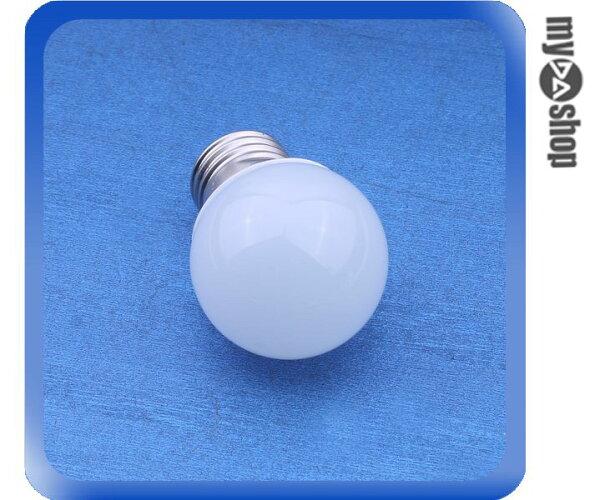 《DA量販店》E27 2W LED 正白 燈泡 LED燈 節能燈 省電燈泡 AC85-265V 適用(78-2882)