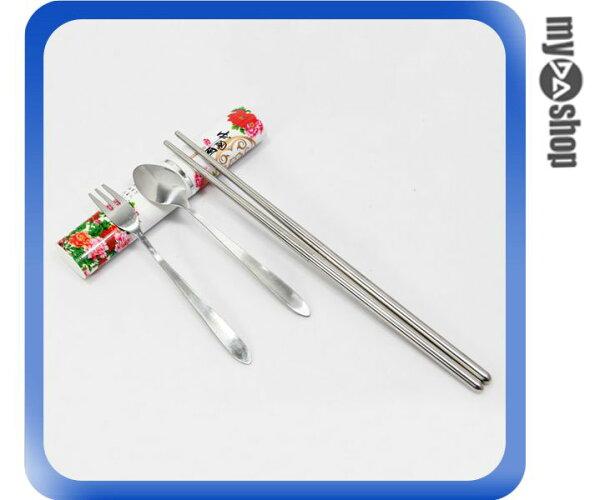 《DA量販店》環保筷 衛生筷 野餐筷 環保餐具組 筷子 叉子 湯匙 中國風(78-4264)