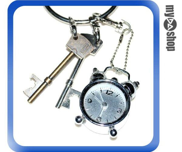 《DA量販店》迷你 袖珍 復古風 小型 鬧鐘 時鐘 鬧鈴(79-0523)