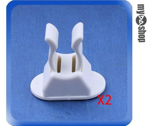 《DA量販店》多功能 工具夾 拖把夾 萬用夾 掃把 掛鉤 萬能掛鉤 一組兩入(79-1297)