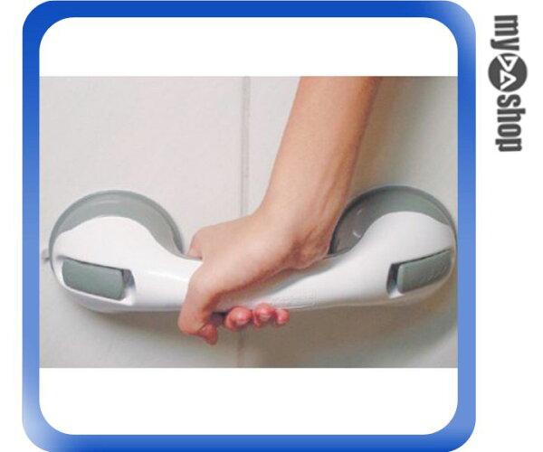 《DA量販店》吸盤式 浴室 扶手 超強 吸盤 廁所 扶助手把 浴缸扶手 門把手(79-1308)