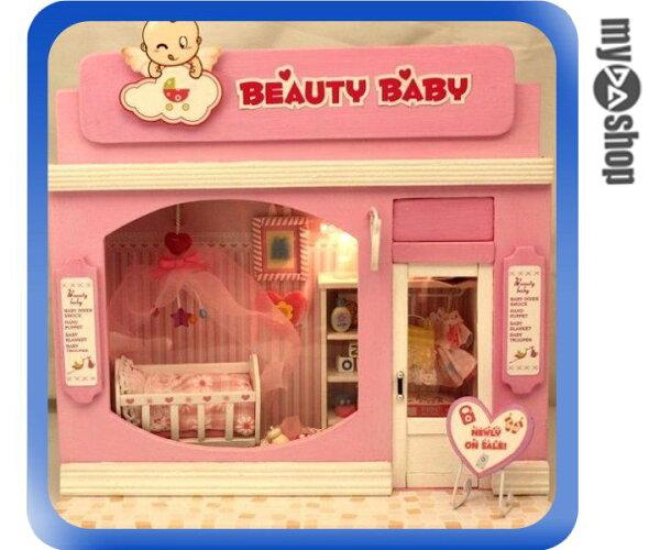 《DA量販店》DIY 手作 粉色 可愛 女生 房間 佈置 迷你 袖珍屋 娃娃屋 模型屋(79-1407)