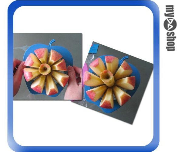 《DA量販店》廚房 工具 蘋果 造型 不繡鋼 水果 切片器 去核 切果器 (79-1430)