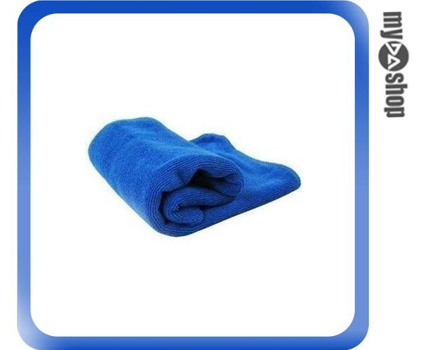 《DA量販店》小號 奈米 抗菌 高吸水 打蠟 洗車 毛巾 抹布 (79-2645)
