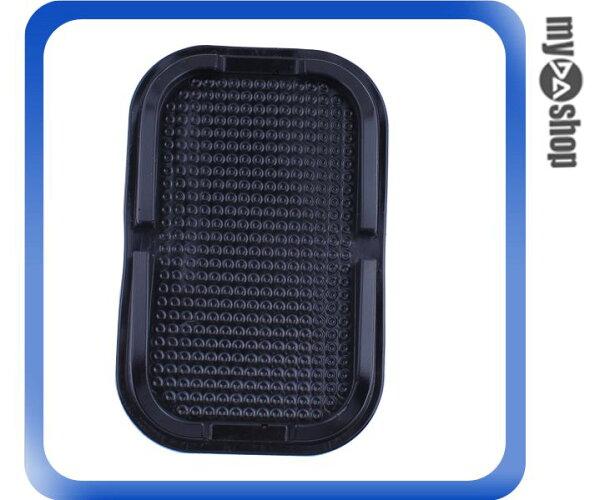 《DA量販店》汽車 車用 超強 止滑 吸附力 防滑墊 止滑墊 黑色 手機 公仔(79-3673)