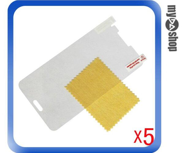 《DA量販店》三星 Samsung Galaxy Note3 透明 亮面 保護貼 保護膜 一組五入(79-4916)