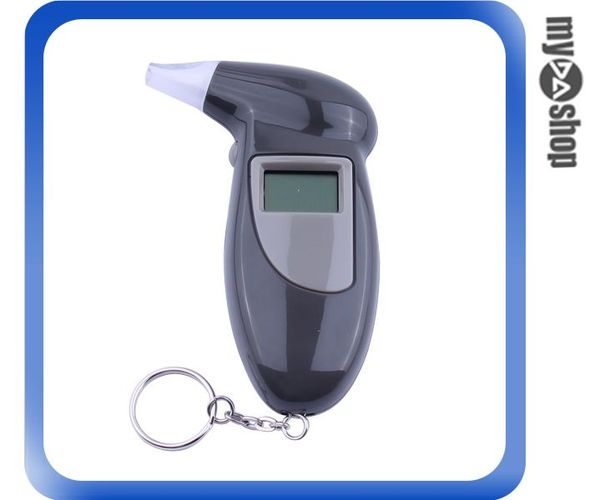 《DA量販店》迷你 攜帶型 多功能 酒精測試計 酒測器 酒測儀 顏色隨機出貨(79-6386)