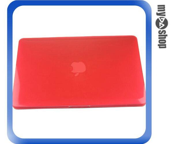 《DA量販店》MACBOOK PRO RETINA 13.3吋 水晶 保護殼 紅 適用 無光碟機版(79-7126)