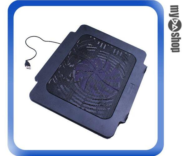 《DA量販店》NB 筆電 專用 散熱器 散熱墊 散熱風扇 黑色(80-0977)